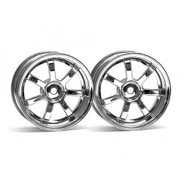 HPI Jantes Rays Gram 57S Chrome (x2) 26mm