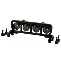 RPM - Support de 4 LED Toit - Noir - 80782