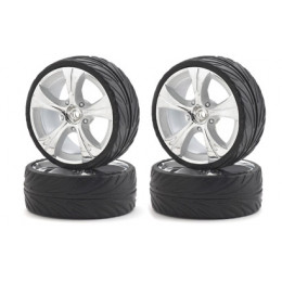 CARSON Pneus + jantes Big Wheel Set 13 (x4) 500900064