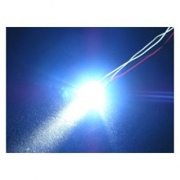 3RACING - LED Normale 3mm Bleu - 3RAC-NLD03/BU