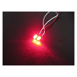 3RACING LED Normale 3mm Rouge 3RAC-NLD03/RE