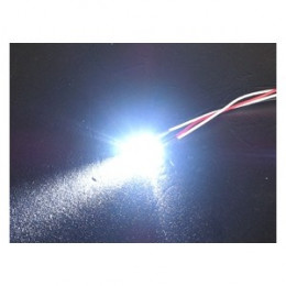 3RACING LED Normale 3mm Blanc 3RAC-NLD03/WI
