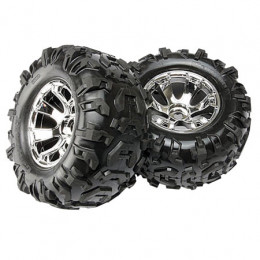 TRAXXAS - Pneus Canyon AT + Jantes Geode - 5673