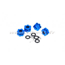 T2M Hexagones de roue 12mm Alu (x4) T4900/201