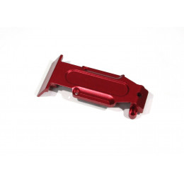 GPM - Skid plate arriere Alu - Rouge - TRV331R-R
