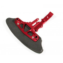 GPM Skid plate avant + mousse Rouge RA331F-R