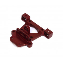 GPM Support carrosserie arriere Alu 1/16 Rouge ERV031F-R