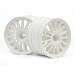 HPI Jantes WR8 Rally 57x35mm Blanc 108075
