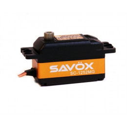 Savox Servo Low profile SC-1252MG 7kg 0.07s Métal