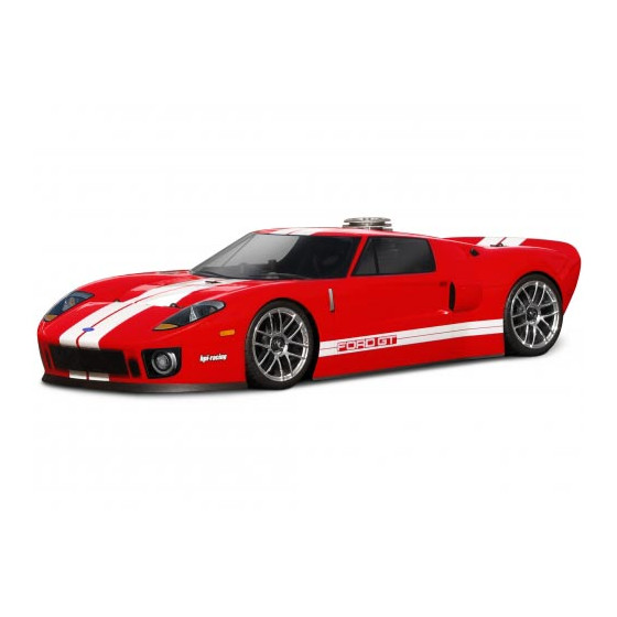 HPI - Carrosserie - Ford GT - 200mm - 7495