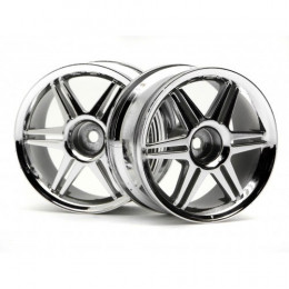 HPI Jantes CORSA Chrome 26mm 3mm (x2) 3802