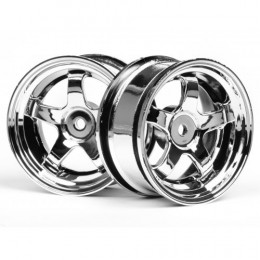 HPI - Jantes Work Meister - Chrome - 26mm - 3mm - 3591