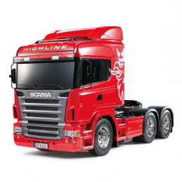 Tamiya Camion XB Scania R620 6x4 Highline Rouge RTR 23670