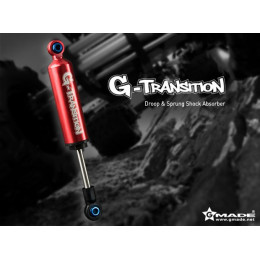 "Gmade Amortisseur G-Transition Rouge 90mm 1/8"" GM20701"