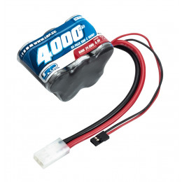 LRP Accu reception 6.0v 4000mah Hump 430608