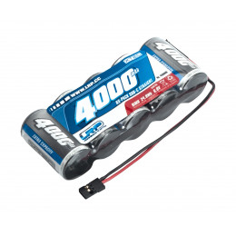 LRP Accu reception 6.0v 4000mah Straight 430609