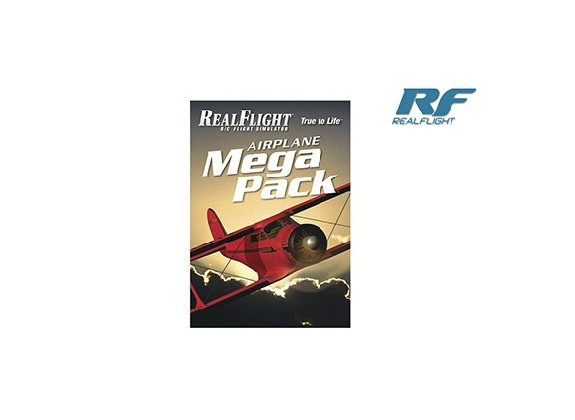 RealFlight Mega pack avion GPMZ4160