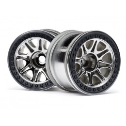HPI Jantes Split 8 chrome 2.2 (x2) 113336