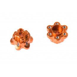 GPM Adaptateurs de roue 14mm alu orange YT014A-OR