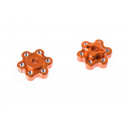 GPM Adaptateurs de roue 9mm alu orange YT009A-OR