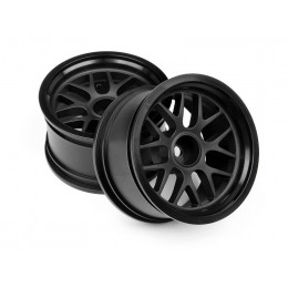 HPI Jantes BBS Spoke Black 48x31mm (x2)