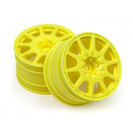 HPI Jantes Method WR8 Rallycross 35mm Jaune (x2) 113689