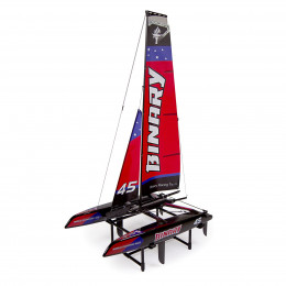 Josway Mini Catamaran Binary rouge RTS Z028807R
