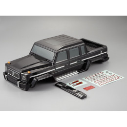 "Killer Body Carrosserie Crawler 1/10"" Horri-Bull Peinte Noir RTU KB48338"