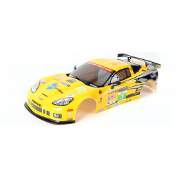 Killer Body Carrosserie Corvette GT2 190mm RTU Peinte KB48012