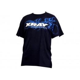 Xray T-Shirt Team Bleu