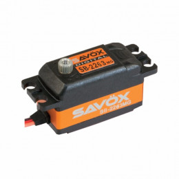 Savox Servo Low Profile SB-2263MG 10kg 0.076s Métal