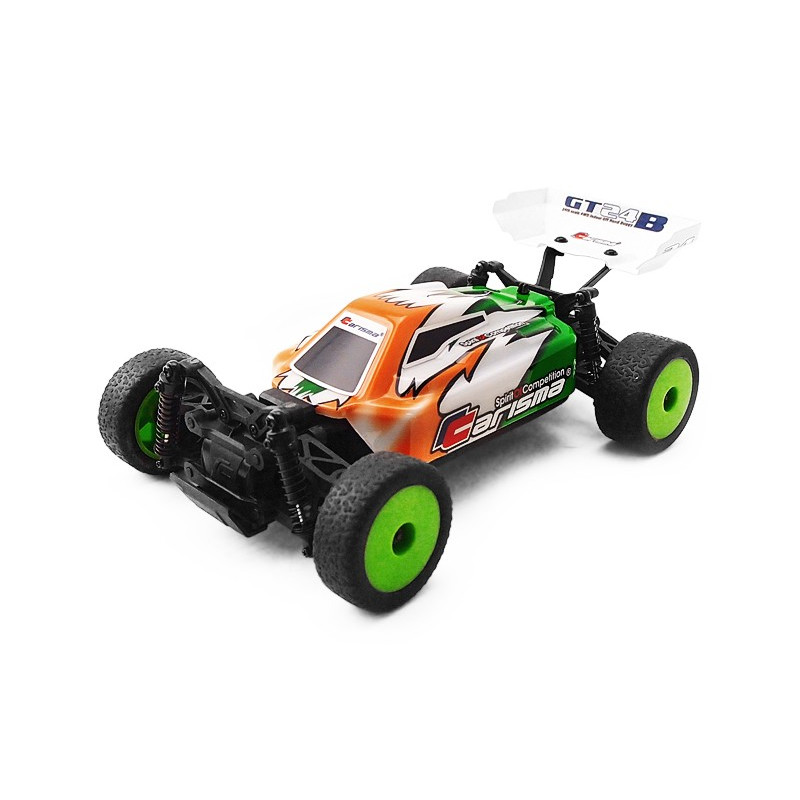 Carisma Micro Gt24b Buggy Brushless 4wd Rtr 57668 Rc Team