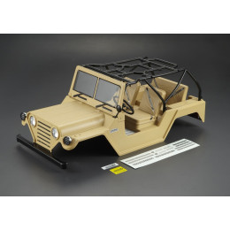 "Killer Body Carrosserie Crawler 1/10"" Warrior Désert Militaire RTU KB48418"