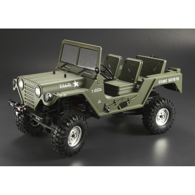 killer body carrosserie crawler 1 10 warrior d sert militaire rtu kb48447 rc team. Black Bedroom Furniture Sets. Home Design Ideas