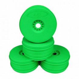 "De Racing Set de 4 Jantes Speedline Plus Pour Buggy 1/8 ""GREEN"" DER-PSB-8G"