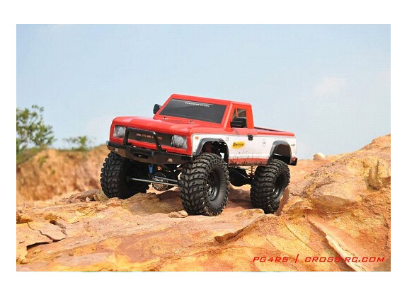 Cross-Rc Crawler Pick-up PG4RS 4x4 2.2 Lexan KIT