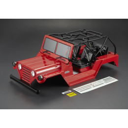 "Killer Body Carrosserie Crawler 1/10"" Warrior Rouge RTU KB48444"