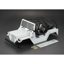 "Killer Body Carrosserie Crawler 1/10"" Warrior WHITE RTU KB48445"