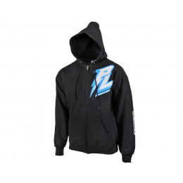 Proline Hoodie Bolt Black Zip-Up S/M/L/XL/XXL