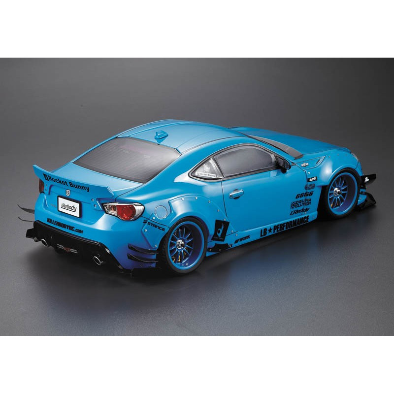 killer body kit carrosserie n 1 toyota 86 subaru brz 195mm kb48582 rc team. Black Bedroom Furniture Sets. Home Design Ideas
