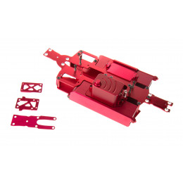 GPM Chassis Alu 1/16 Rouge ERV016-R