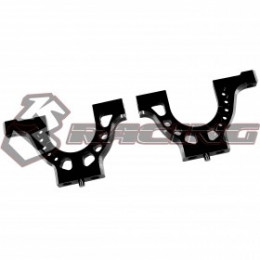 3RACING Support de Cellule Alu Noir Sakura D4 SAK-D4806/V2/BK