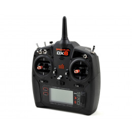 SPEKTRUM Radio DX6 V2 Emetteur Seul Mode 2 SPMR6750EU