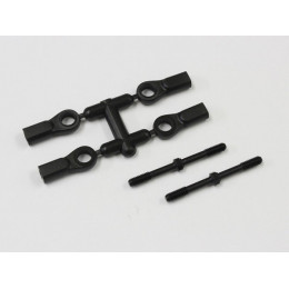 Kyosho Biellettes de Direction 4x46mm MP9 (x2) IF332BK