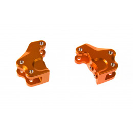 GPM Support de fixation liens et amortisseur alu orange RR008-OR