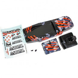 Absima Carrosserie Camouflage Orange Sand Buggy 1230120