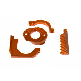 GPM Support moteur alu orange SP3018-OR