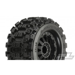 Proline Pneus Badlands MX28 2.8 + Jante F-11 (x2) 10125-14