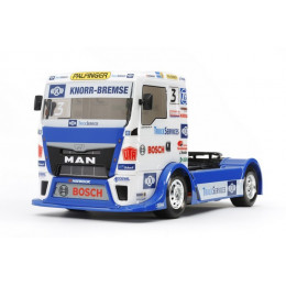 Tamiya TT-01E Camion MAN TGS Team Hahn Racing KIT 58632