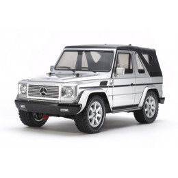 Tamiya MF-01X Mercedes G 320 Cabrio KIT (Silver Edition) 58635